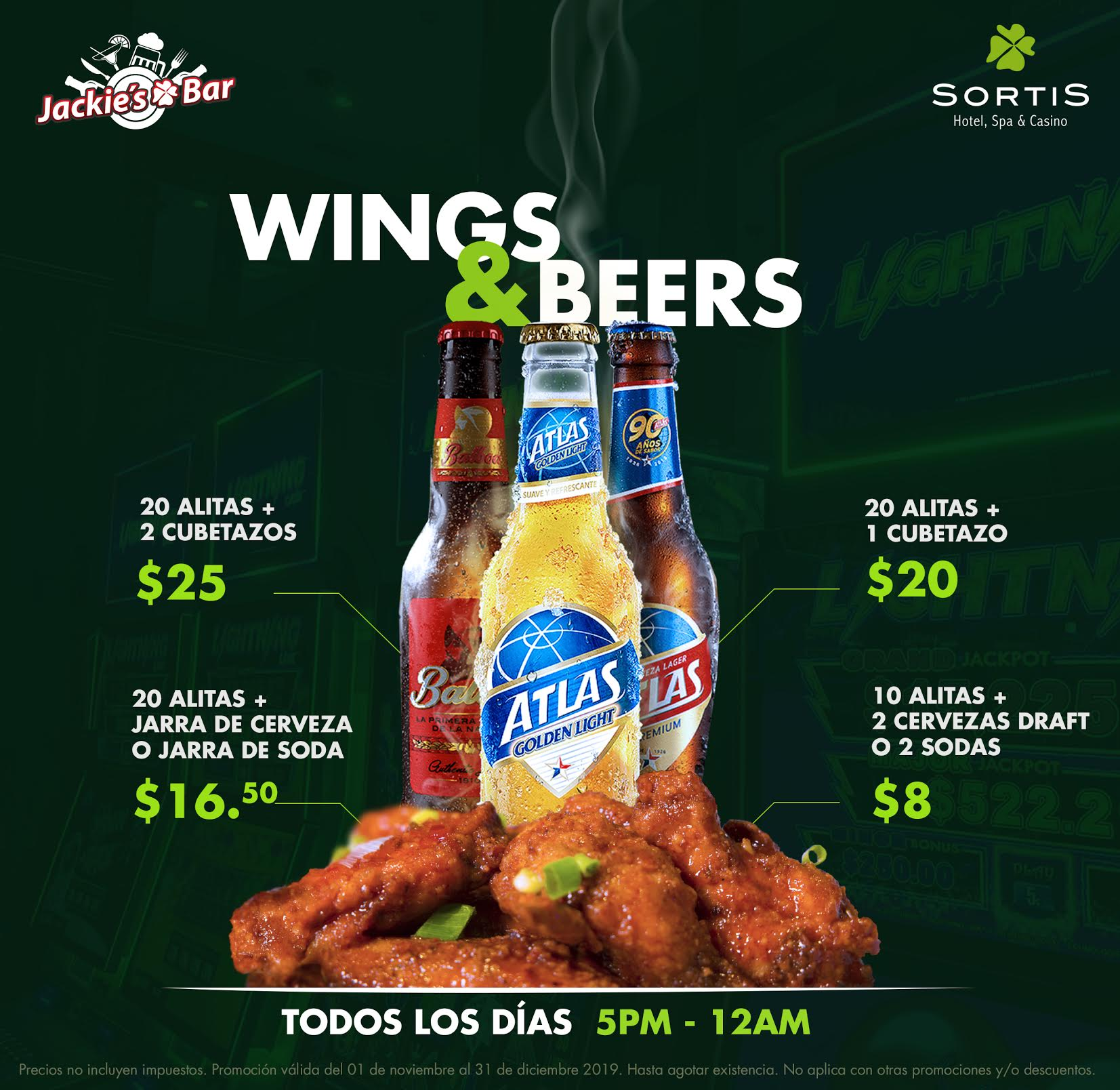 WINGS & BEER