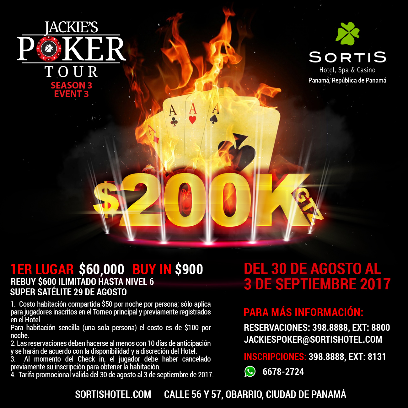Jackies Poker Tour Season 3 - Event 3
