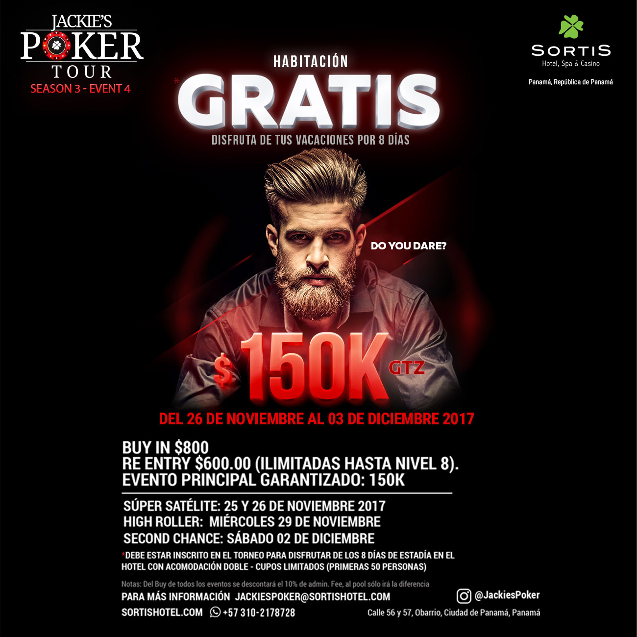 Jackies Poker Tour Season 3 - Event 4