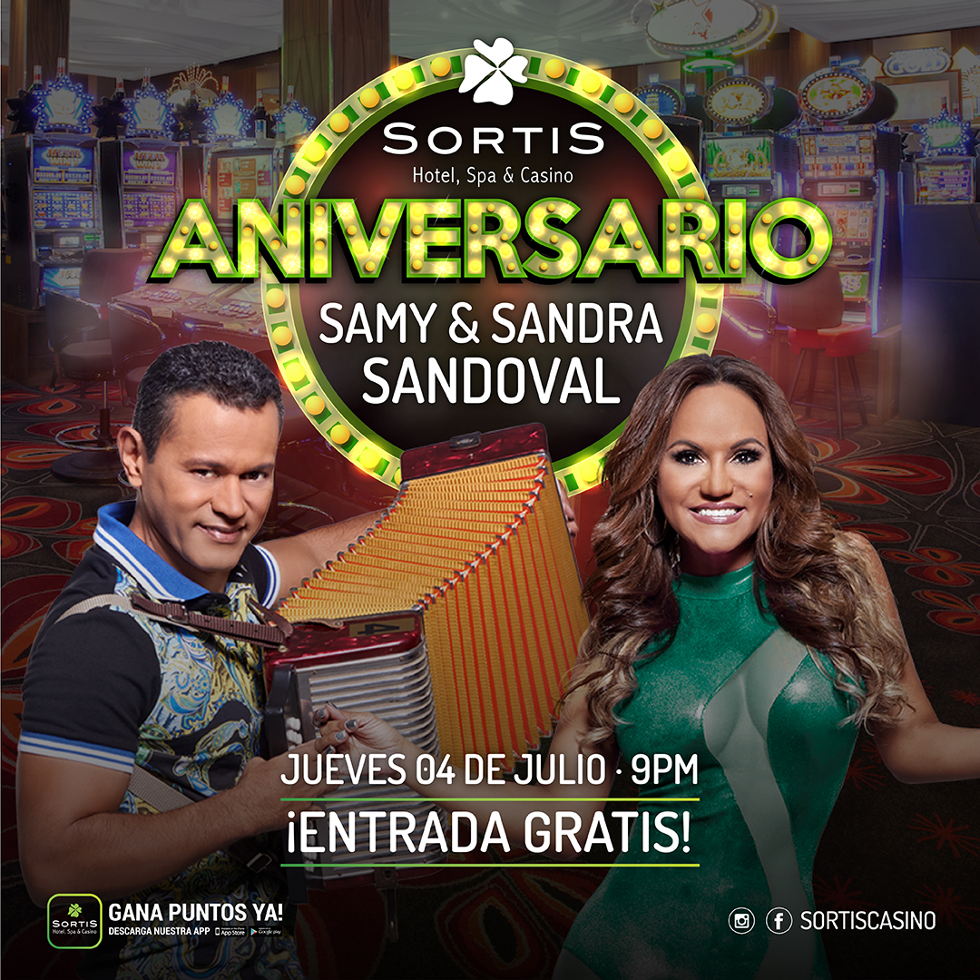 Aniversario de Sortis Casino